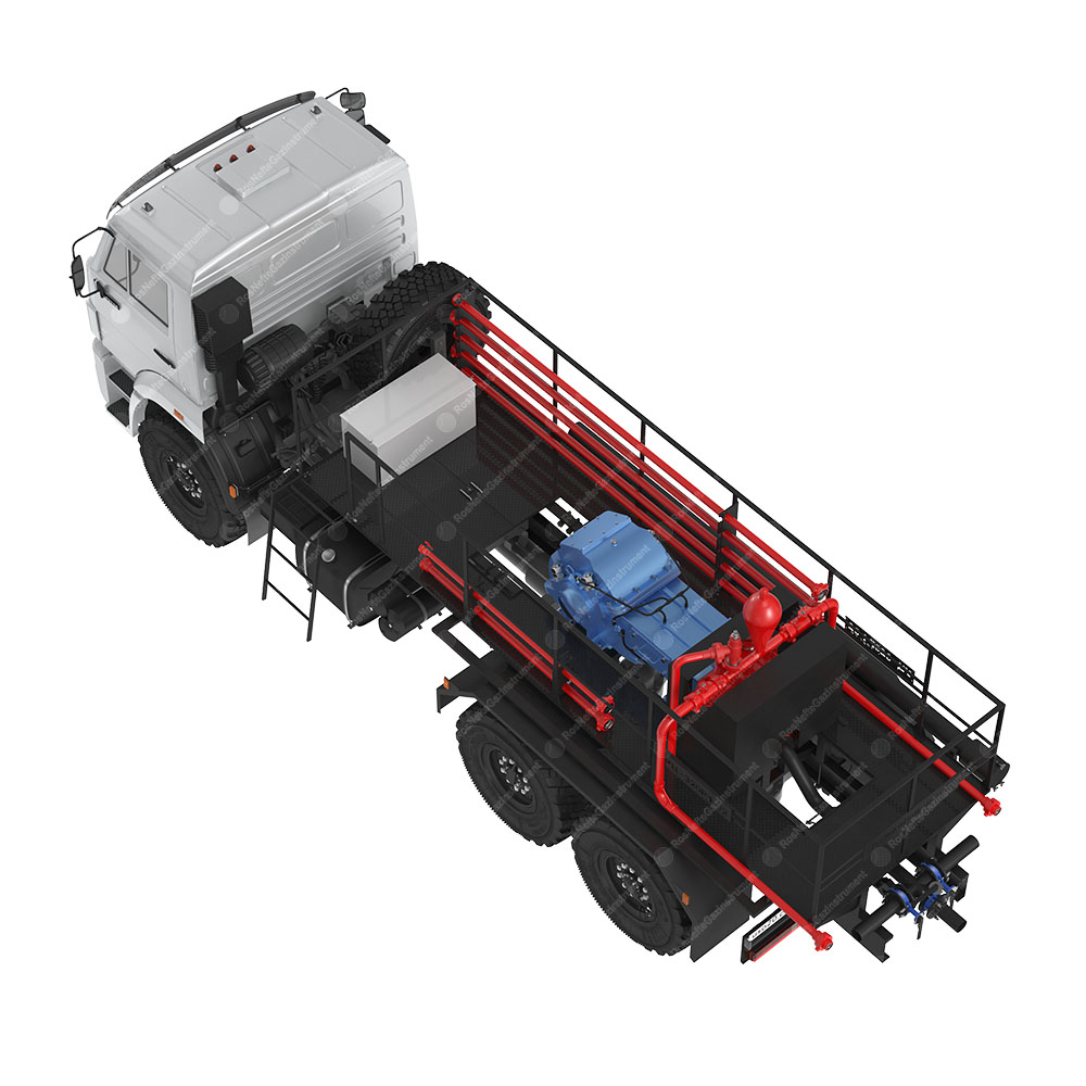 UC-320R1-02 Cementing plant top view