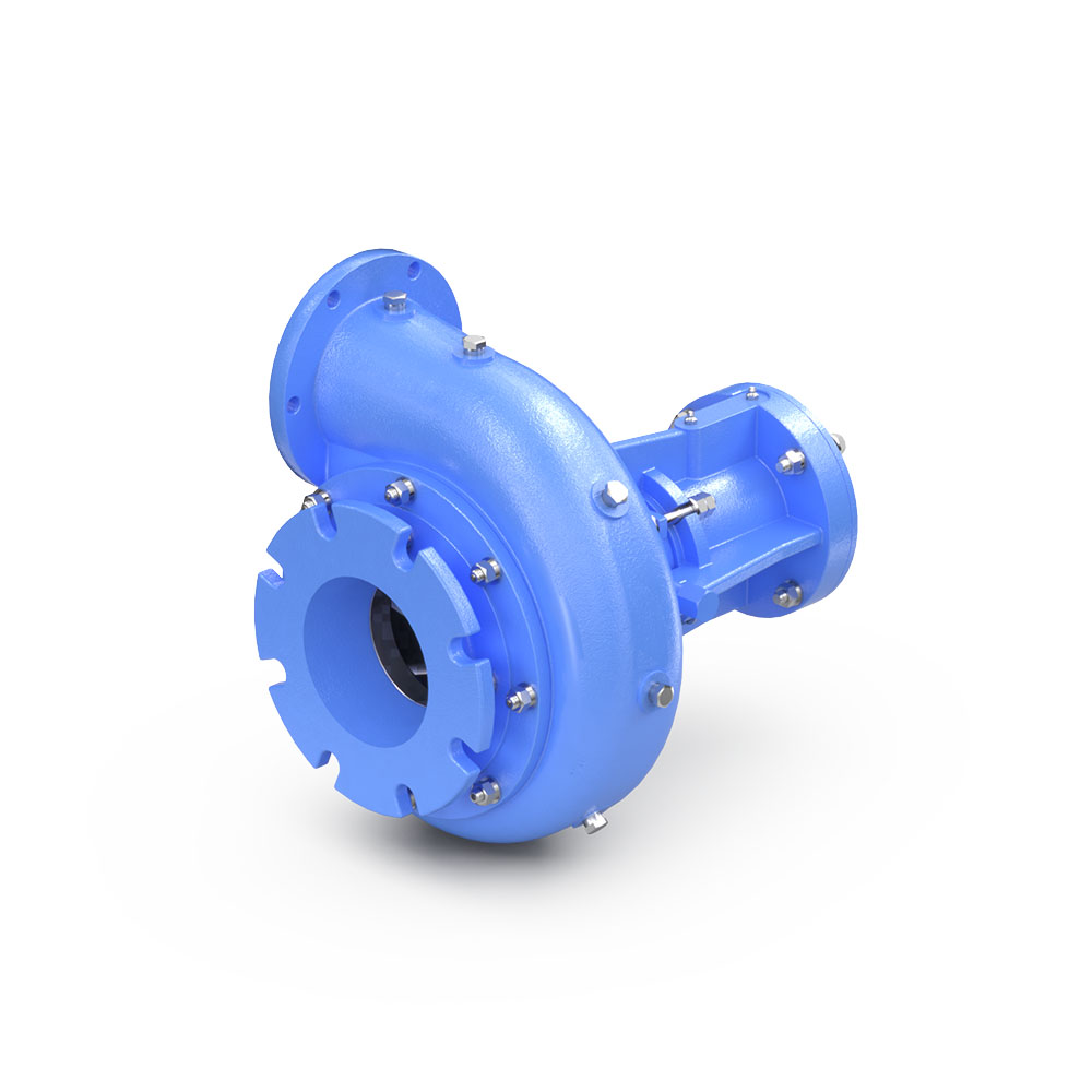 "NC-127R1 (6""x5""x10"") centrifugal pump back view"